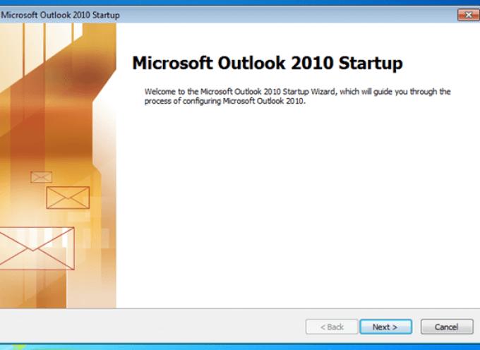 การตั้งค่าเช็คอีเมล์ Hotmail, Gmail, Yahoo ด้วย MS Outlook