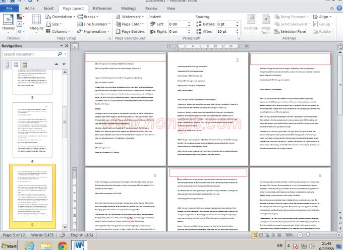 วิธีใส่เลขหน้า Word (ใส่เลขหน้าบางหน้า) ใน Microsoft Office Word