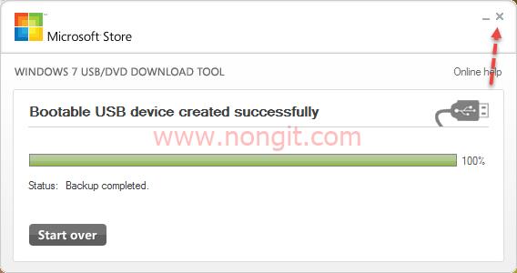 Windows 7 USB DVD Download Tool 11