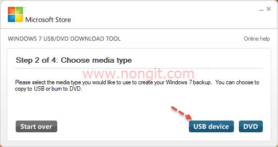 Windows 7 USB DVD Download Tool 5