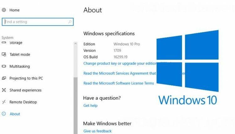 ดาวน์โหลด Windows 10