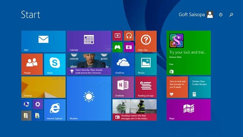 ยกเลิก Password เข้า Windows 8.1 แบบไม่ต้องใส่รหัสผ่าน