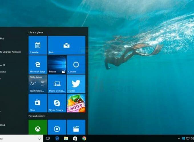 อัพเดท Windows 10 Anniversary (Version 1607)