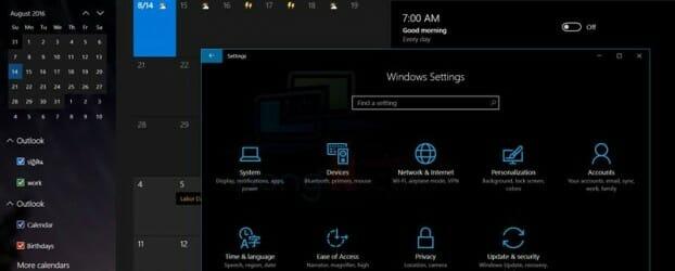 ตั้งค่าใช้งาน Dark Theme ใน Windows 10