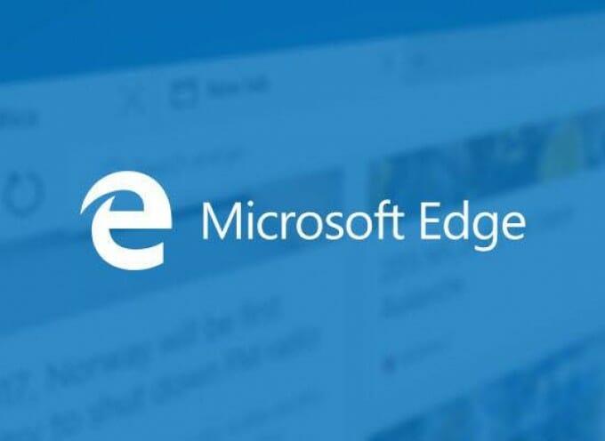 การตั้งค่าหน้าแรก Microsoft Edge
