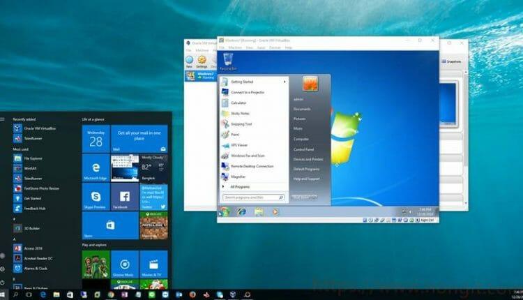 สอนติดตั้ง Windows บน Oracle VM VirtualBox