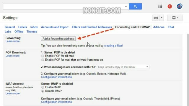 ตั้งค่า Forward อีเมล Gmail