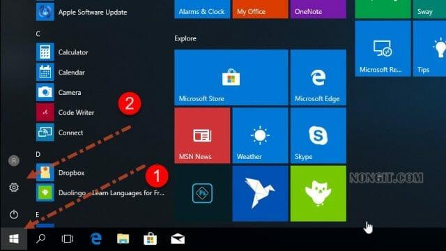 รูปตัวอย่างที่ 1 วิธีการ Join Domain ใน Windows 10