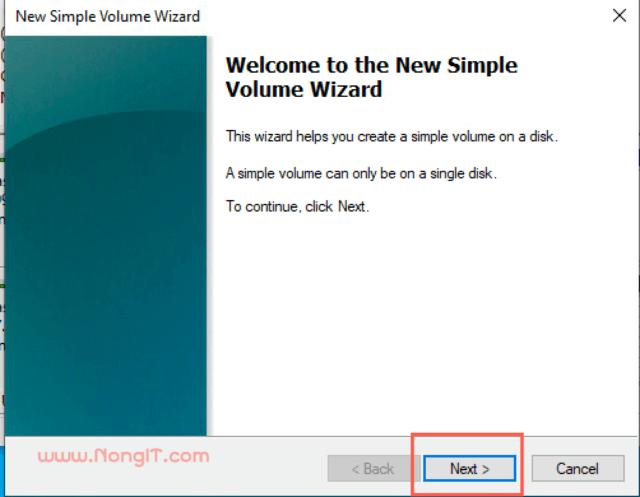 New Sample Volume Wizard