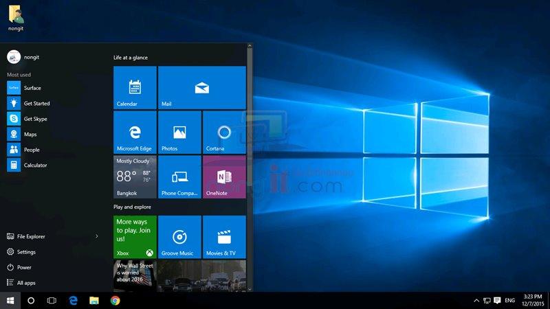 วิธียกเลิก Password ใน Windows 10 (Microsoft account)